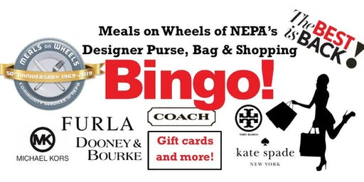 Meals on Wheels of NEPA's Designer Purse, Bag & Shopping BINGO!