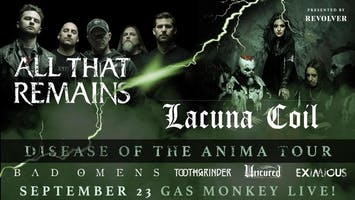 * All That Remains + Lacuna Coil