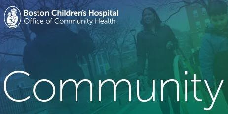 Boston Children's Hospital Community Meeting