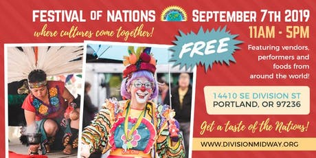 FESTIVAL OF NATIONS | VENDOR REGISTRATION tickets