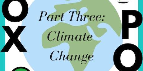 VOX POP - Part Three: Climate Change tickets