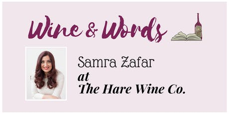 Wine & Words: Samra Zafar tickets