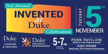 3rd Annual Invented at Duke Celebration tickets