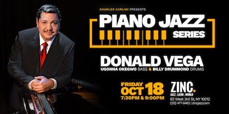 Piano Jazz Series: Donald Vega tickets