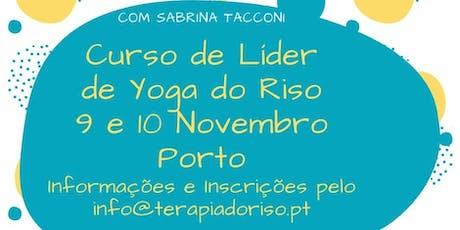 Formação Certificada de Líder de Yoga Riso - Porto bilhetes