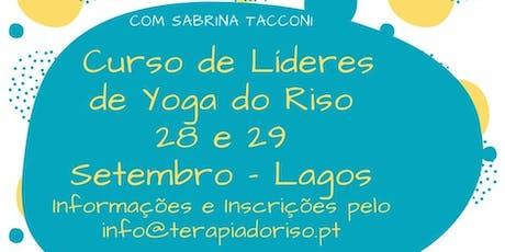 Formação Certificada de Líder de Yoga Riso - Lagos bilhetes