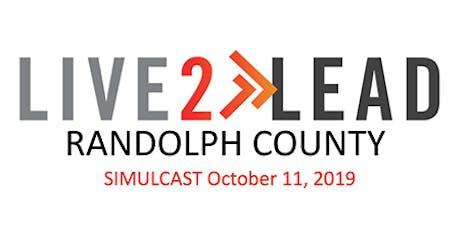 Live2Lead: Randolph County tickets