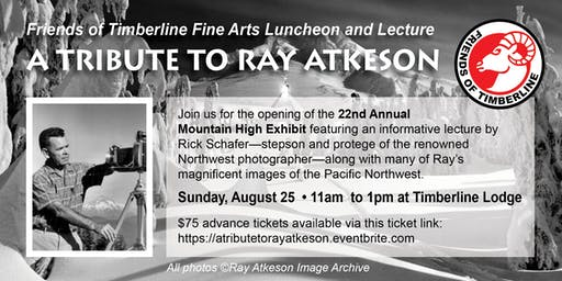 A Tribute to Ray Atkeson: Fine Arts Luncheon and Lecture