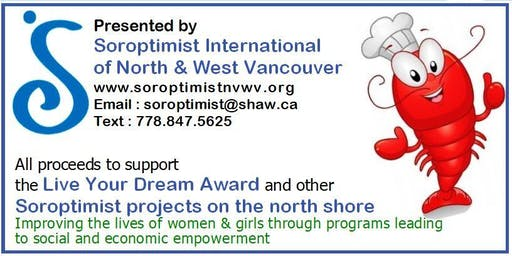 SOROPTIMIST Annual Lobster Dinner