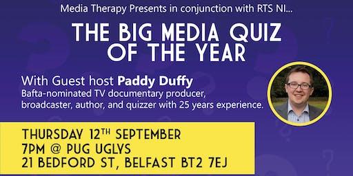 Media Therapy  Presents the Big Media Quiz