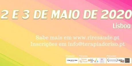 """4ª Edição do Congresso """"Rir é Saúde"""" - Portugal bilhetes"""