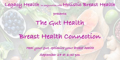 The Gut Health Breast Health Connection tickets