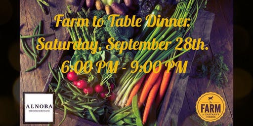 Farm-to-Table Dinner- September 28