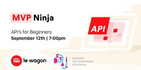 MVP Ninja - APIs for beginners bilhetes