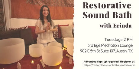 Restorative Sound Bath tickets
