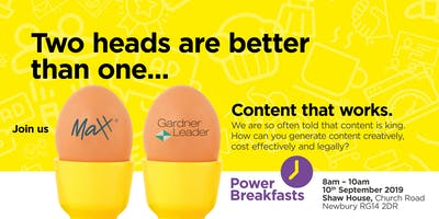 Power Breakfasts - Content that works