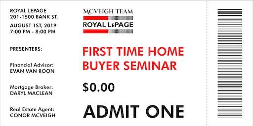 First Time Home Buyers' Seminar Ottawa • Free