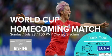 World Cup Homecoming Match tickets
