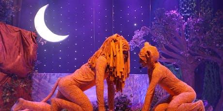 """DESCONTO! Espetáculo Infantil """"O Rei Leão - O Ciclo sem Fim"""" no Espaço Ao Cubo ingressos"""