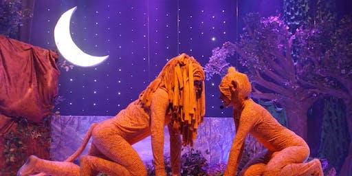 """DESCONTO! Espetáculo Infantil """"O Rei Leão - O Ciclo sem Fim"""" no Espaço Ao Cubo"""