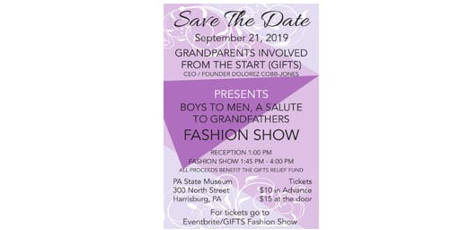 BOYS TO MEN, A SALUTE TO GRANDFATHERS FASHION SHOW