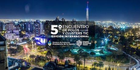 5º Encuentro de Polos y Clusters TIC entradas