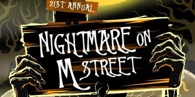 LindyPromo.com Nightmare on M Street Washington DC Halloween Bar Crawl 2019