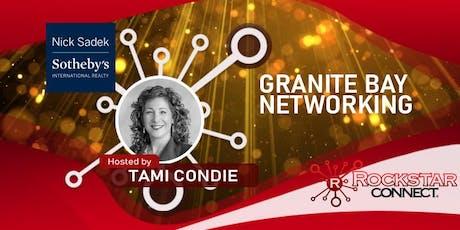 Free Granite Bay Rockstar Connect Networking Event (August, near Sacramento) tickets