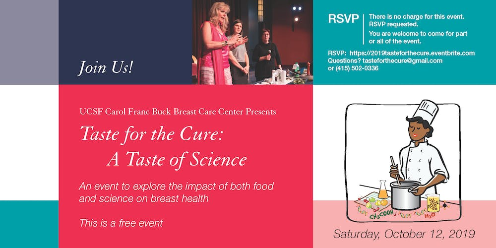 Taste for the Cure 2019: A Taste of Science Tickets, Sat, Oct 12