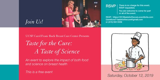 Taste for the Cure 2019: A Taste of Science