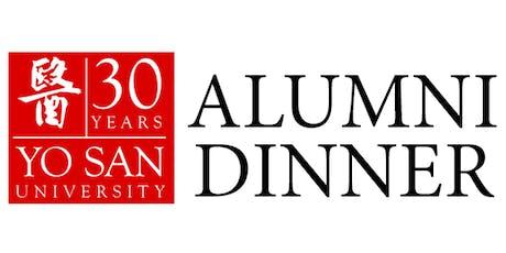 YSU30 Alumni Dinner tickets