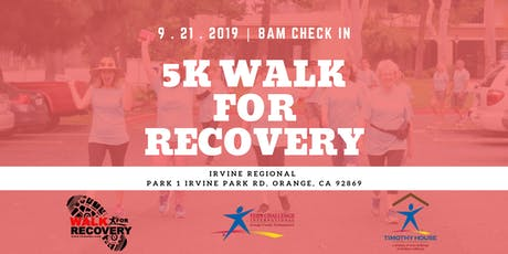 Orange County Teen Challenge 5K Walk For Recovery tickets