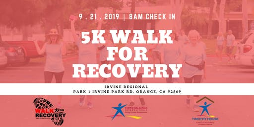 Orange County Teen Challenge 5K Walk For Recovery