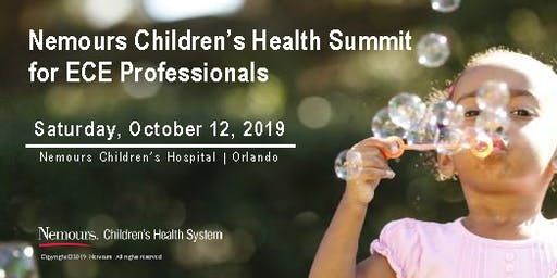 Nemours Children's Health Summit for ECE Professionals