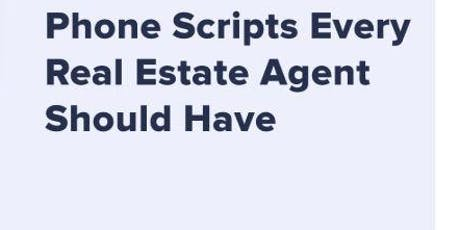 Scripts To Fill Your Pipeline & Your Wallet tickets