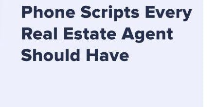 Scripts To Fill Your Pipeline & Your Wallet