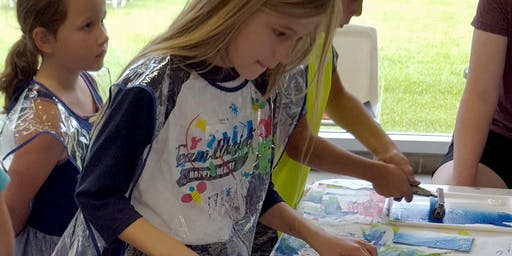 Sampler Saturday: Kids Art Exploration