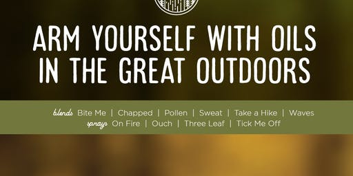 ESSENTIAL OILS & THE GREAT OUTDOORS