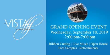 Grand Opening of The VISTA tickets