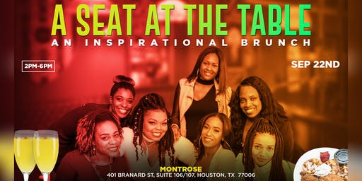 A Seat At The Table: A Hip Hop Inspirational Brunch