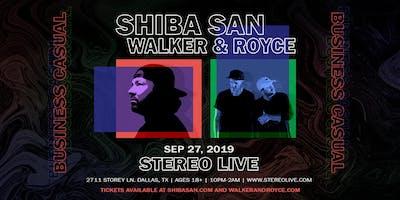 Shiba San x Walker & Royce: Business Casual - Stereo Live Dallas