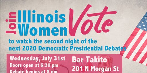 Debate Watch Party with Illinois Women Vote