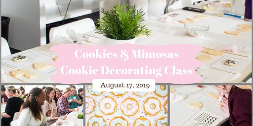 Cookies and Mimosas Decorating Class