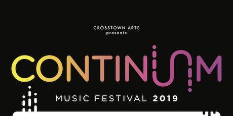 Continuum Music Festival tickets