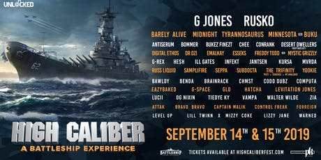 High Caliber Festival 2019 tickets