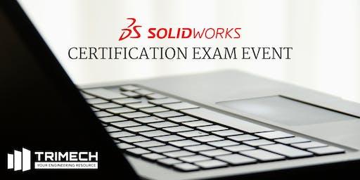 SOLIDWORKS Certification Exam Event - Huntsville (AM Session)