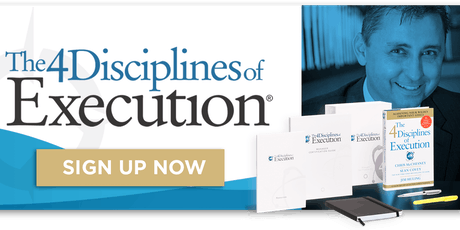 The 4 Disciplines- Webcast tickets