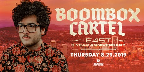 3 YEAR ANNIVERSARY WEEK: BOOMBOX CARTEL tickets