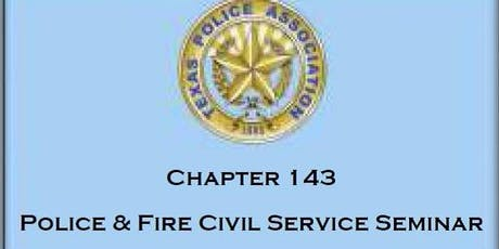 2019 Police and Fire Civil Service Seminar tickets