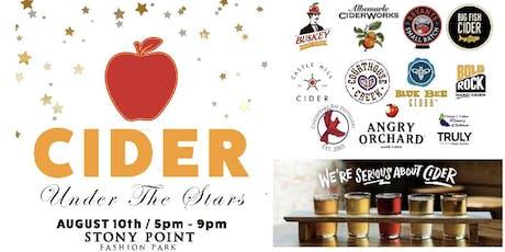 Cider Under the Stars tickets